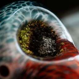 Some remnants of marijuana remain in a user's pipe from the last time the individual smoked.