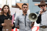 Activists in the Reno, Nev. community come together in support of immigration on the one-year anniversary of President Barack Obama's executive order called Deferred Action for Childhood Arrivals.